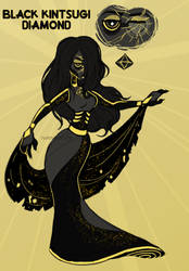 Black Kintsugi Diamond: OTA by nirnroots