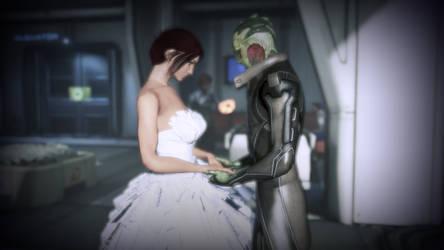 MassEffect 3 Get married in the hospital by Zevranfangirl