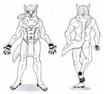 Reference sheet lineart by shirogu5