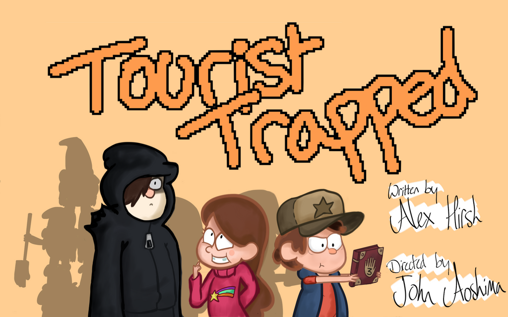 Gravity Falls Title Card by willtommo