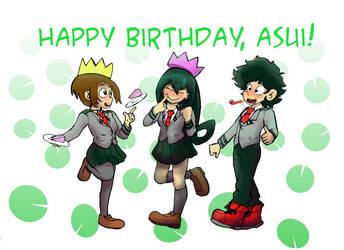 Happy Birthday, Asui!