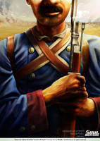 UNKNOWN SOLDIER 'CCPG' Poster by Nicoob