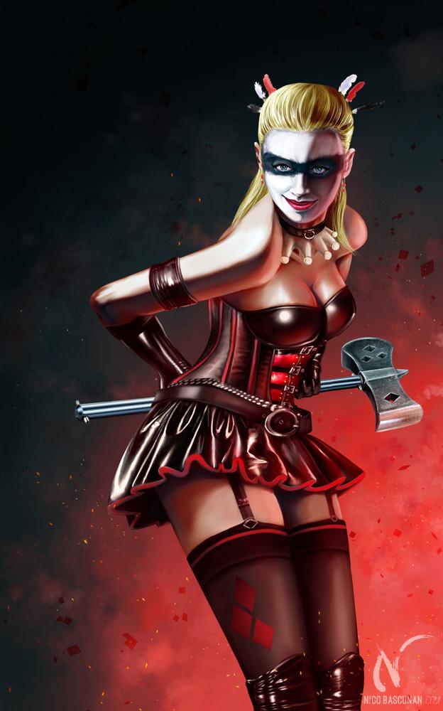 Harley Quinn by Nicoob
