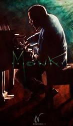 Thelonious Monk by Nicoob