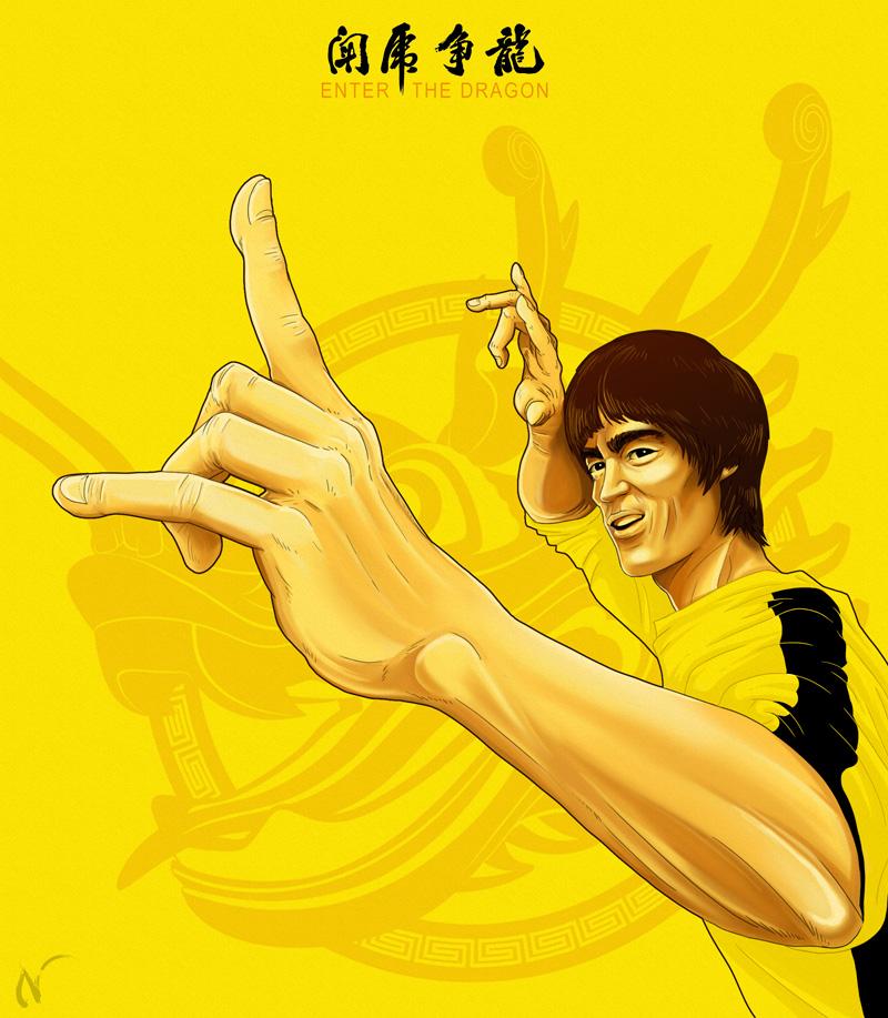Bruce Lee by Nicoob