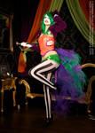 Burlesque Joker Queen