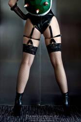 Bowsette Butt by GagaAlienQueen