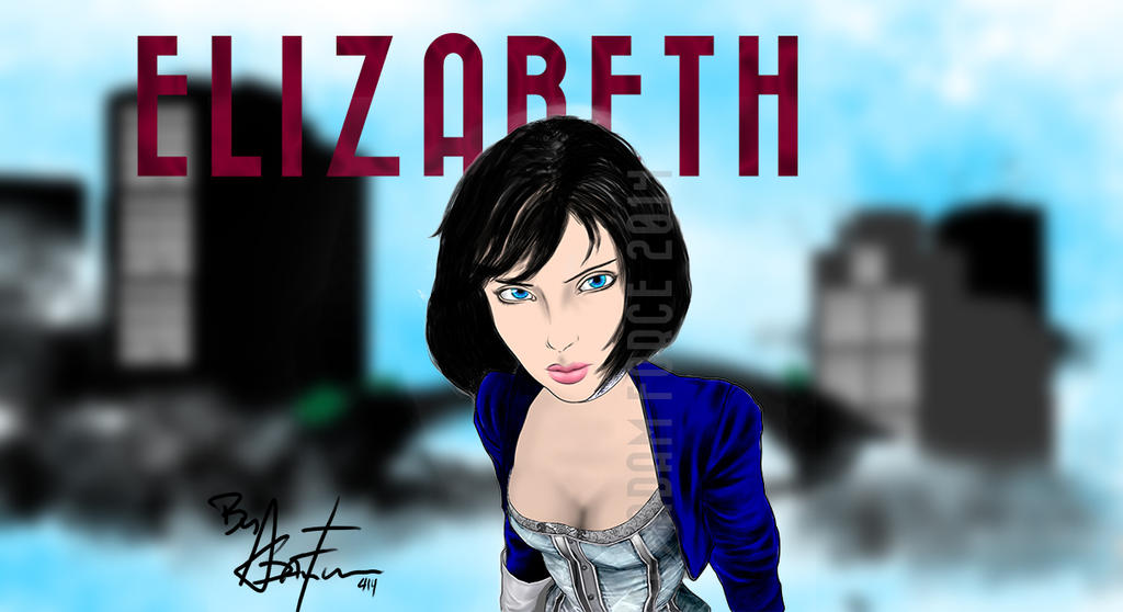 Elizabeth from Bioshock Infinite. by adamforce