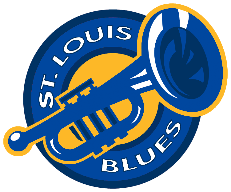 st.louis blues logo conceptpd-black-dragon on deviantart