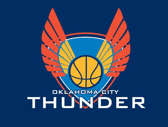 OKC Thunder Logo Concept By PD Black Dragon