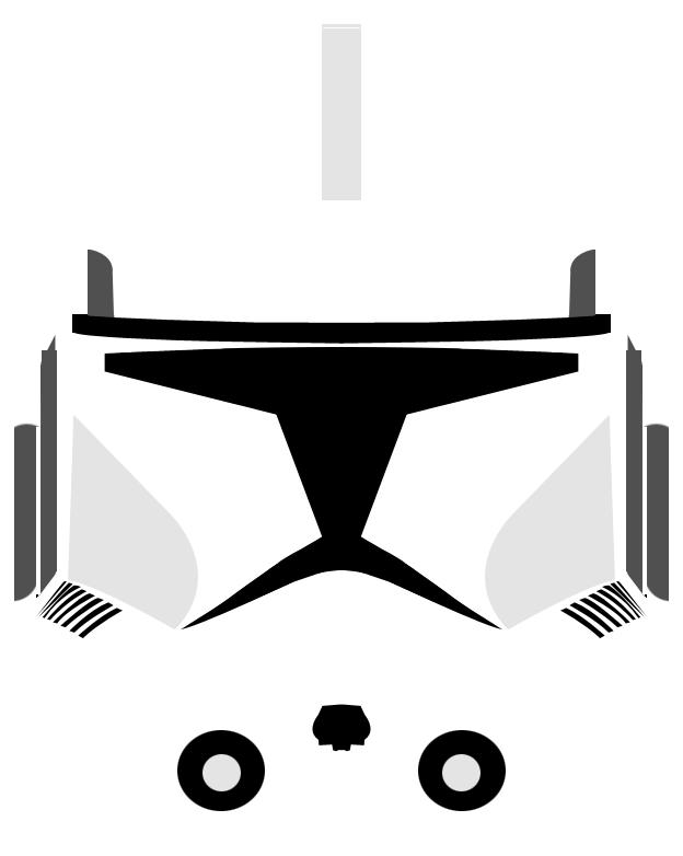 Clone Trooper Helmet Variant 2 by PD-Black-Dragon