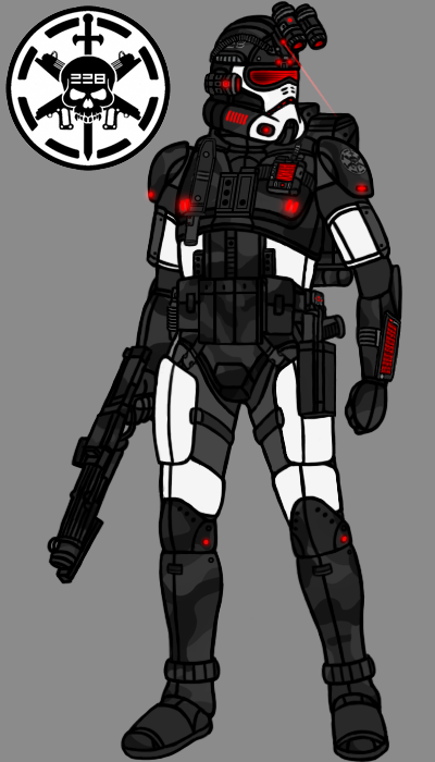 228th black operations clone trooper redesign by pd black. Black Bedroom Furniture Sets. Home Design Ideas