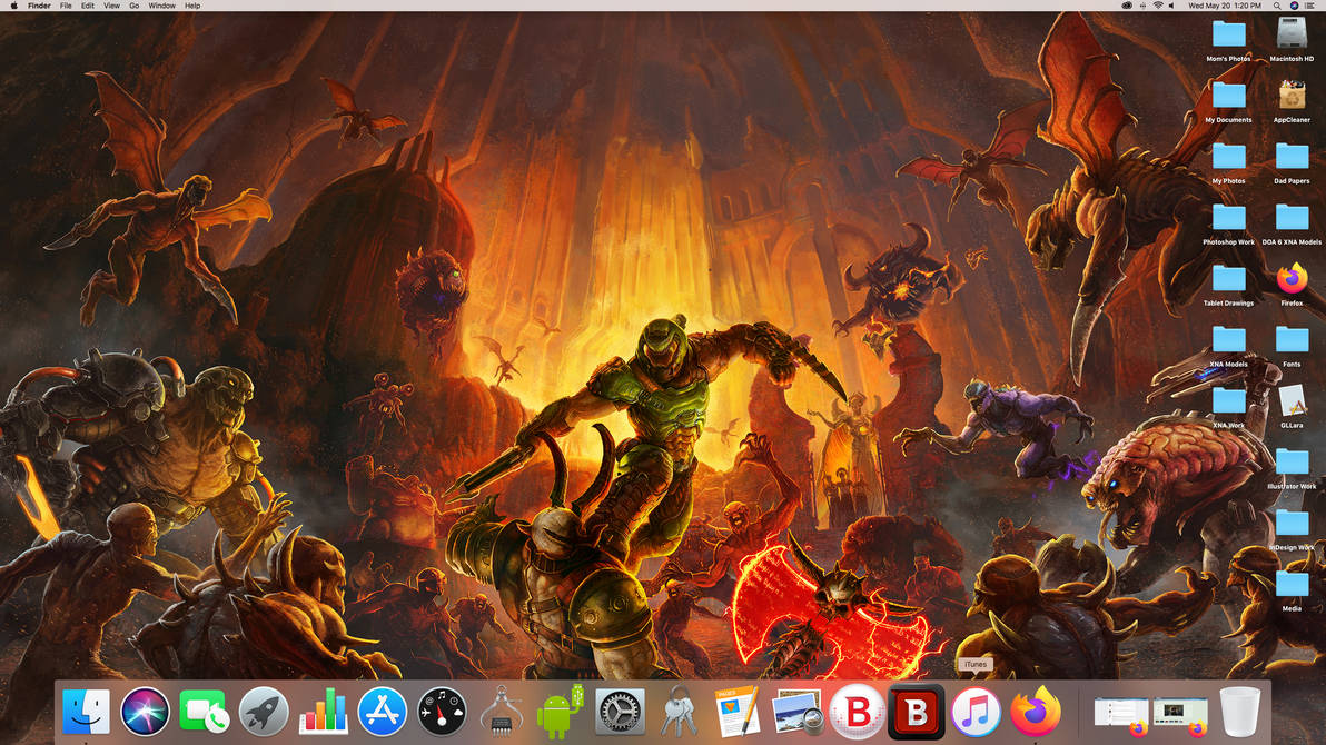 Desktops are temporary, but DOOM is Eternal...