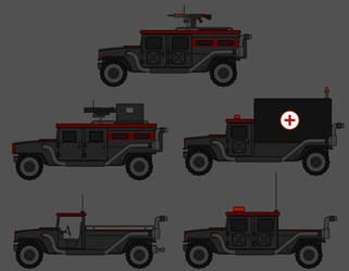 Bear Cat Urban Combat Vehicle