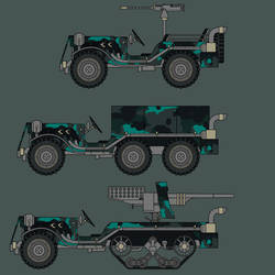 Waterstone Improvised Fighting Vehicle
