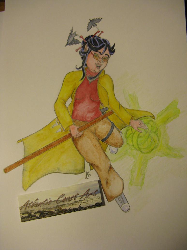 my OC Illeysa by Allraune