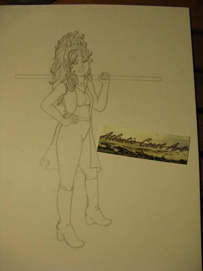 my OC Illeysa 2 by Allraune
