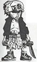 Akainu (Child) by InfernoTheRoyal