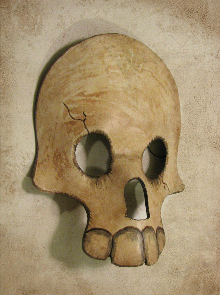 Leather Skull Mask by Dr-K