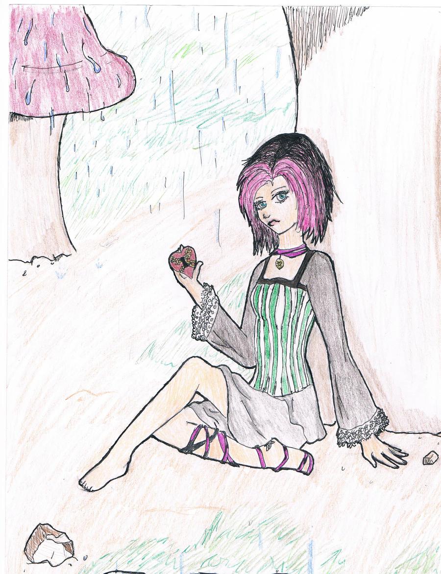 A Heart in the Rain by GoldenEva-Beatrice on DeviantArt