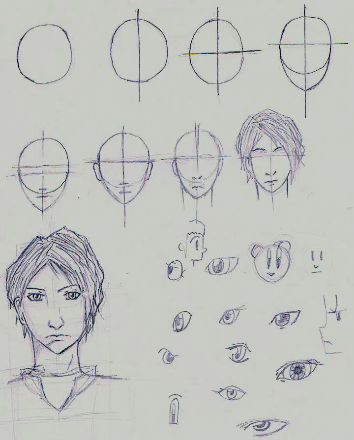 Head tutorial how to draw manga anime guy faces by goldeneva beatrice