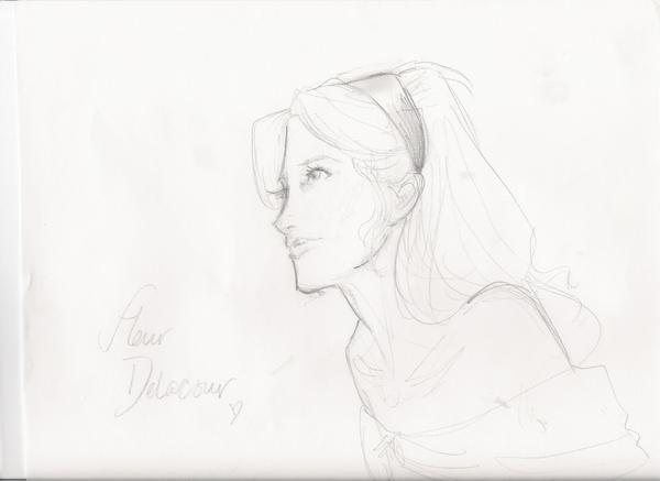 Fleur Delacour by burdge