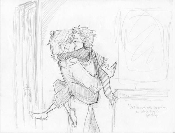 Surprise, Remus by burdge