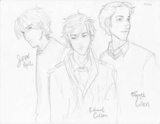 The Cullen Boys by burdge