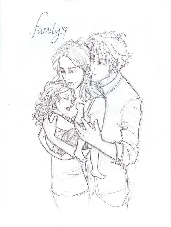 Famille de Cullen WIP by burdge