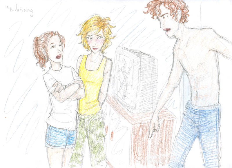 Drawing Looking For Alaska Alaska: Noticing By Burdge On DeviantArt