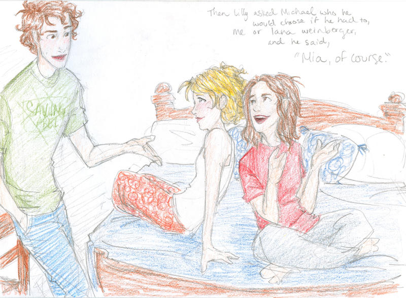 Looking For Alaska Drawings: Mia, Of Course. By Burdge On DeviantArt