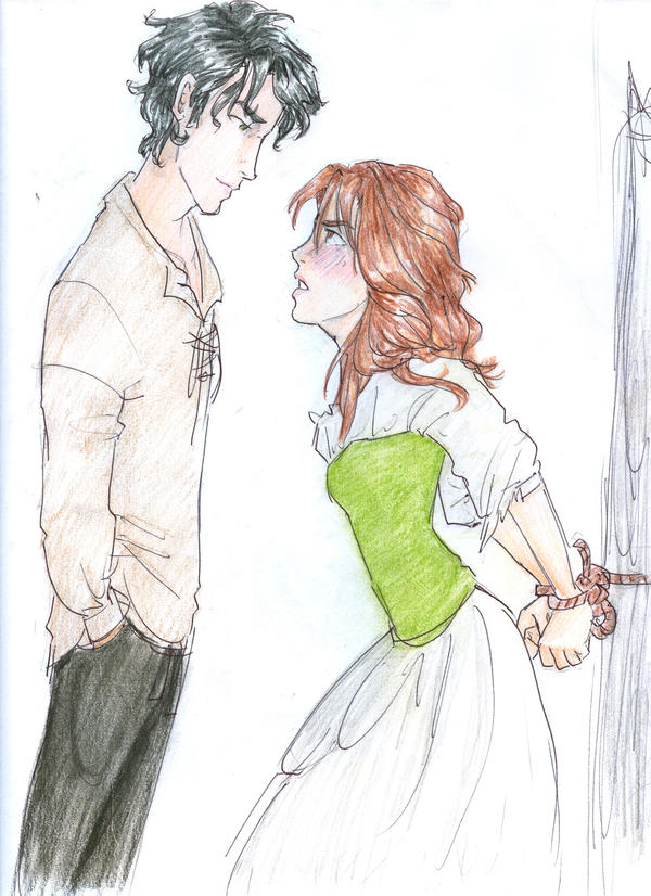 More Curran and Erin by burdge