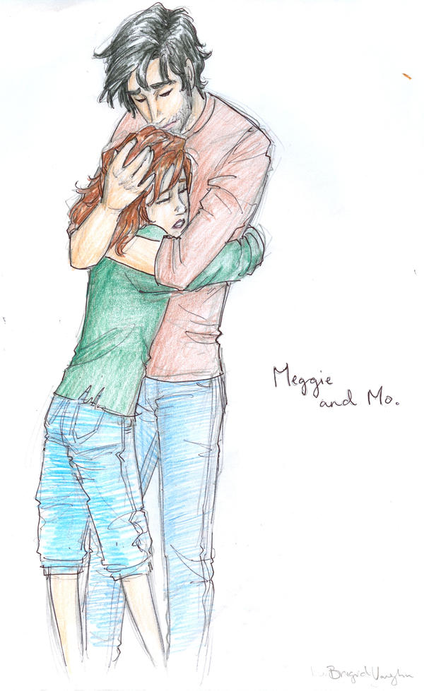 Mo comforts Meggie by burdge