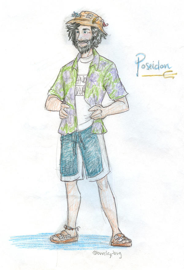 Poseidon by burdge