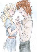 Meggie and Doria by burdge