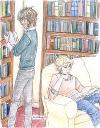 Bonding Over Books2 by burdge