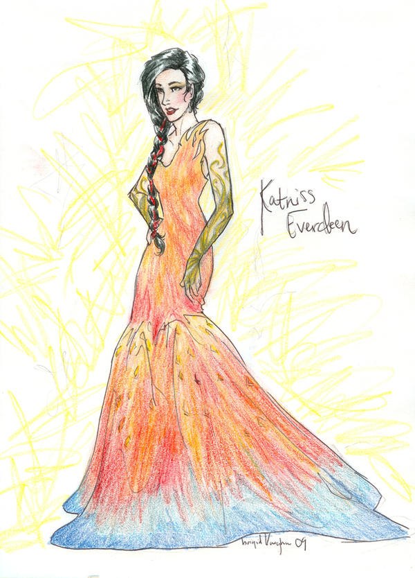 Katniss Everdeen by burdge