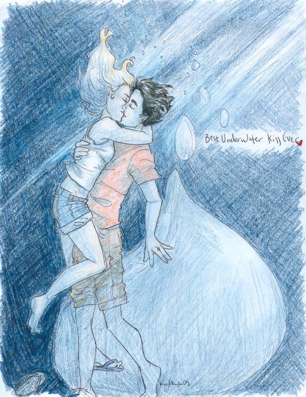 best underwater kiss. by burdge