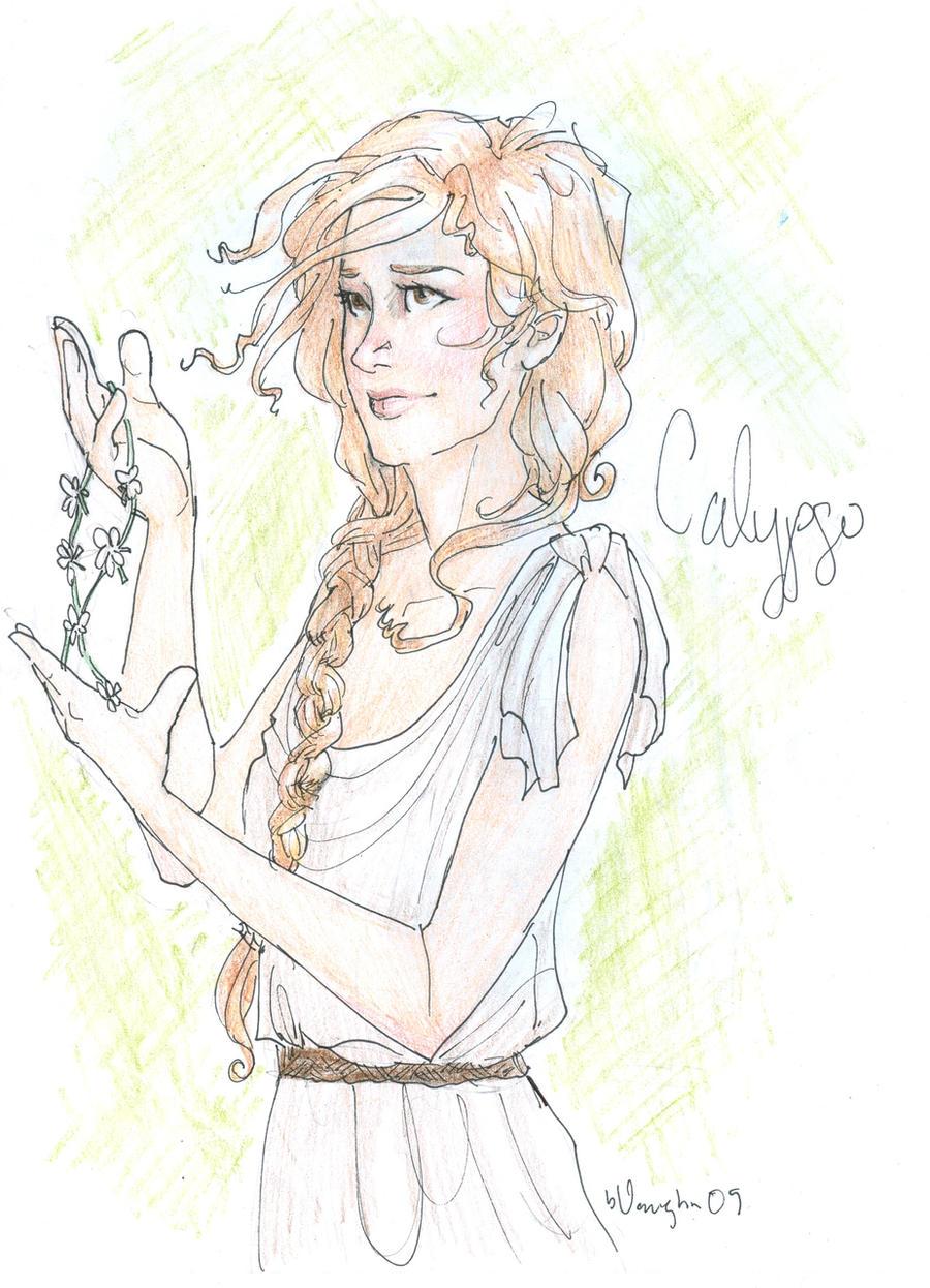 Calypso by burdgePercy Jackson Drawings Burdge Bug