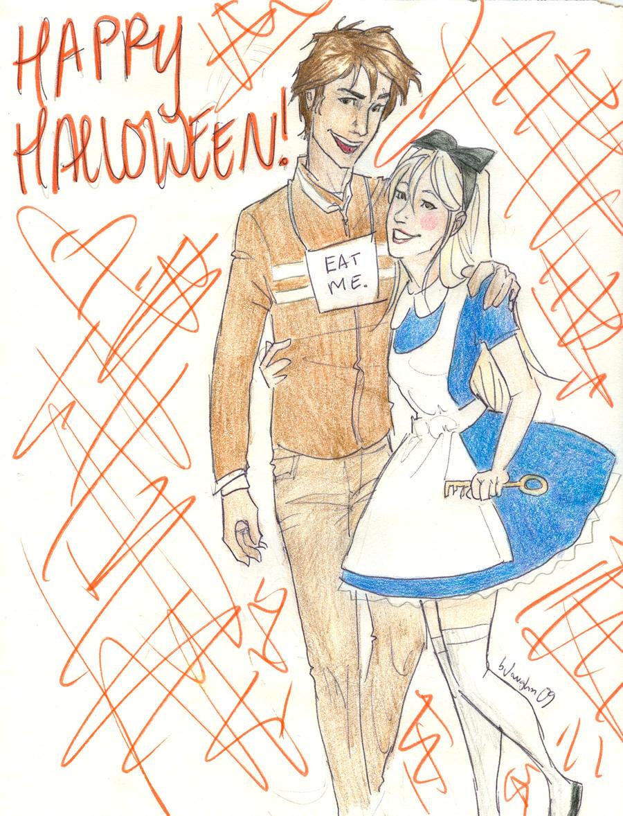 ...happy halloween by burdge