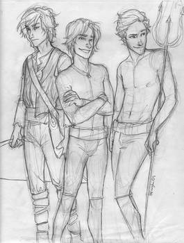 the Men of Hunger Games WIP