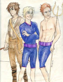 the Men of Hunger Games