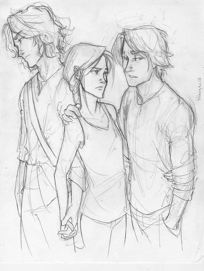 Gale? or Peeta? by burdge