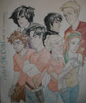 Percy Jackson n the Olympians