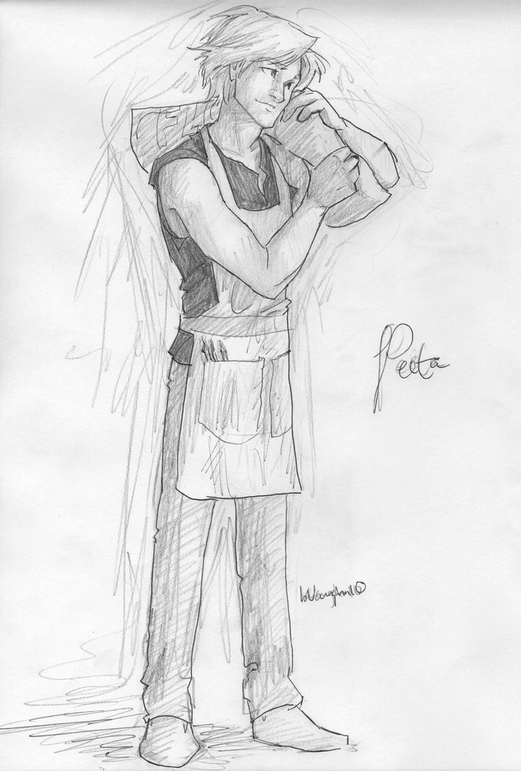Peeta by burdge