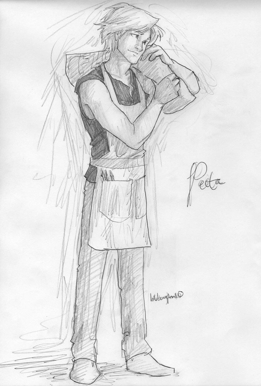 Hunger Games Peeta Drawing Peeta by burdge on Dev...