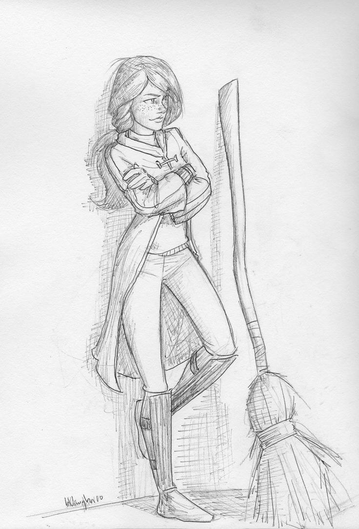 Ginny Weasley by burdge
