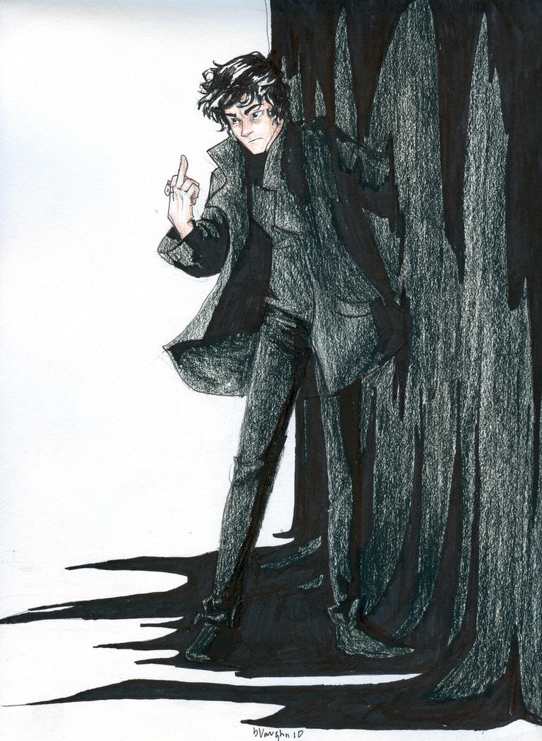 Nico di Angelo by burdge