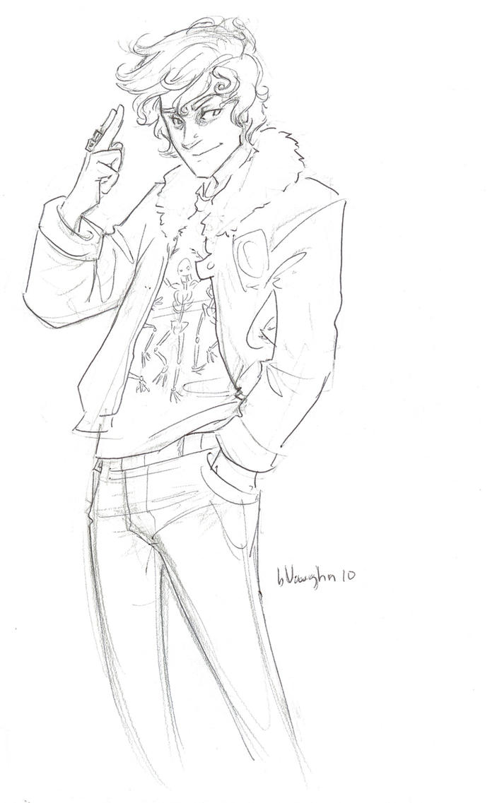 Nico    smiling   by burdgePercy Jackson Drawings Burdge Bug