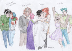 Potterverse Couples by burdge